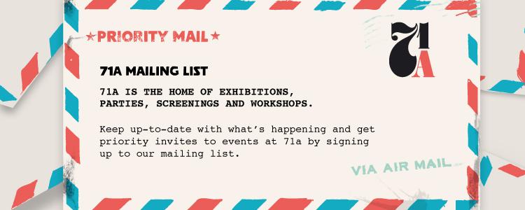 71a Mailing List