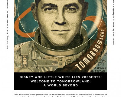 DISNEY AND LITTLE WHITE LIES PRESENTS: WELCOME TO TOMORROWLAND: A WORLD BEYOND| FRI 22-SAT 23 May