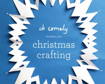 Christmas Crafting with Oh Comely Magazine | Thursday 3rd December, 7pm